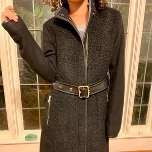 Vince Camuto XS black wool coat